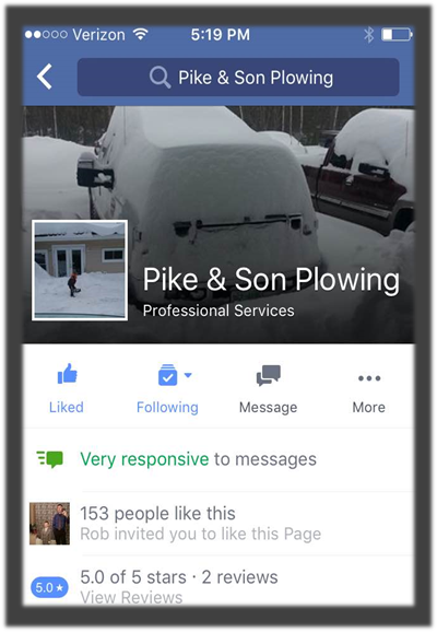 Pikes Plowing Customer Reviews